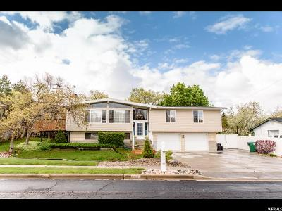 Fruit Heights Single Family Home Under Contract: 1478 Nicholls Rd