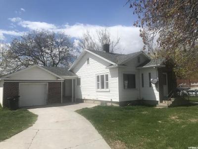 Preston Single Family Home Under Contract: 206 S 2nd E