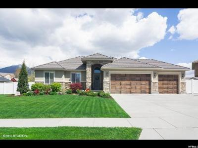 Kaysville Single Family Home Under Contract: 1025 S Country Mill Dr