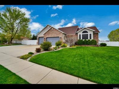 West Jordan Single Family Home Backup: 5118 W 8270 S