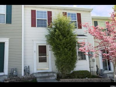 Clearfield Townhouse Under Contract: 414 E 500 S