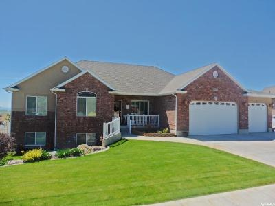 Tremonton Single Family Home Under Contract: 2615 W Mountain Rd