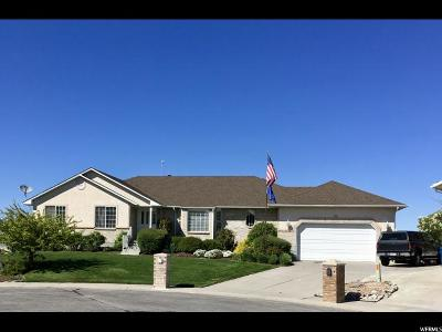 Stansbury Park Single Family Home Under Contract: 185 N Lakeview Dr W