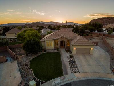 St. George Single Family Home Under Contract: 2478 S 2310 Cir E