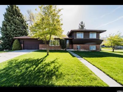 North Logan Single Family Home Under Contract: 2162 N 700 E