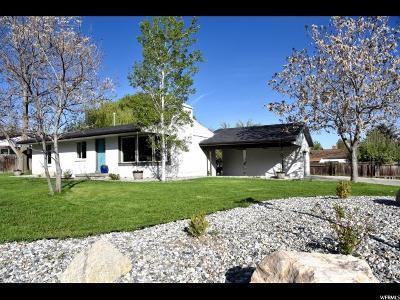 Cottonwood Heights Single Family Home Under Contract: 1871 E Village Rd S #37
