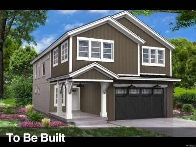 Bluffdale Single Family Home Under Contract: 15243 S Park Bluff Way W #10