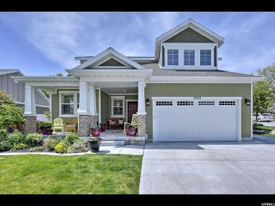 South Jordan Single Family Home Under Contract: 1243 W Holt Farm Ln