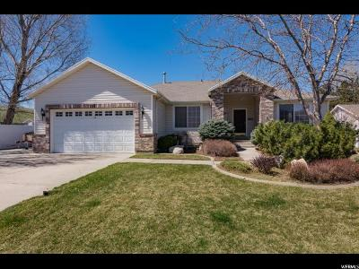 South Weber Single Family Home For Sale: 7787 S 2100 E