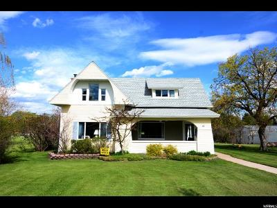 Cache County Single Family Home Under Contract: 68 Main St S