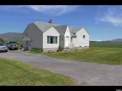 Tremonton Single Family Home Under Contract: 10230 W 11200 N
