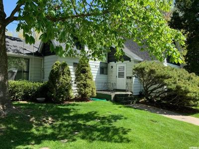 Logan Single Family Home Under Contract: 815 E 200 N