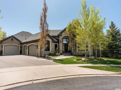 Bountiful Single Family Home For Sale: 4764 S Spring Meadow Cir