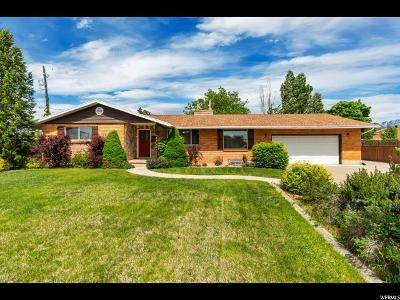 Clearfield Single Family Home For Sale: 1161 E 1050 S