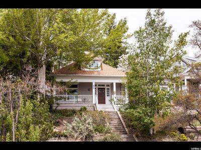 Salt Lake City Single Family Home For Sale: 609 E 9th Ave