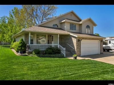 Layton Single Family Home Under Contract: 2246 E 3450 N