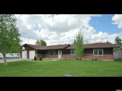 Logan Single Family Home For Sale: 775 W 1000 S