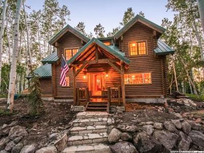 Heber City Single Family Home Under Contract: 12084 E Antelope Dr
