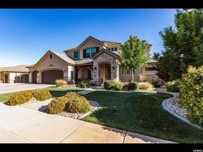 St. George Single Family Home For Sale: 2383 E Segovia Dr