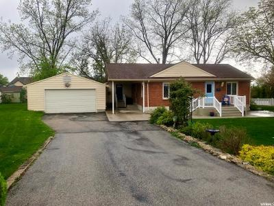 Kaysville Single Family Home Under Contract: 724 E 200 N