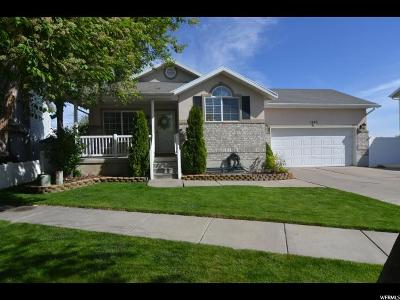 Layton Single Family Home Under Contract: 1403 W Silvercreek Dr