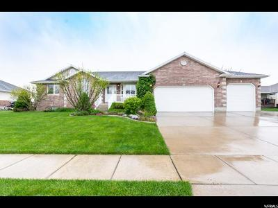 Layton Single Family Home For Sale: 186 W 800 S