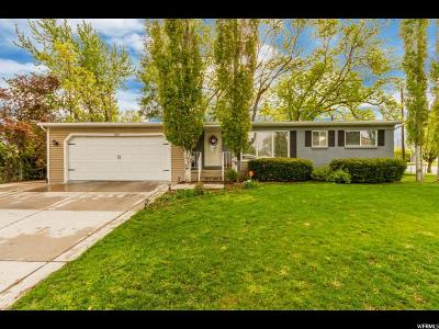 Bountiful Single Family Home Under Contract: 360 N 300 W