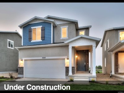 Herriman Single Family Home For Sale: 5624 W Mariscal Ln #222