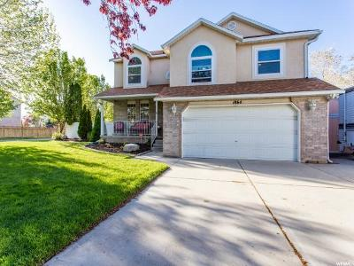 West Jordan Single Family Home For Sale: 1864 W Guard Ct S