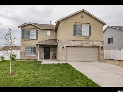 Herriman Single Family Home Backup: 13889 S Cora B Ln