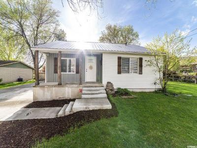 Alpine Single Family Home Under Contract: 703 N Main