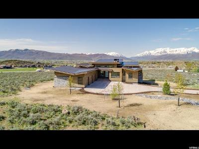 Heber City Single Family Home For Sale: 1060 N Oquirrh Mountain Dr (Lot 63) #63