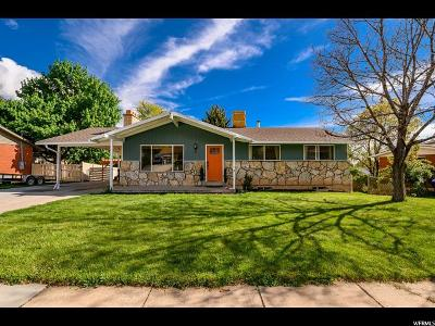 North Ogden Single Family Home Under Contract: 955 E 2800 N