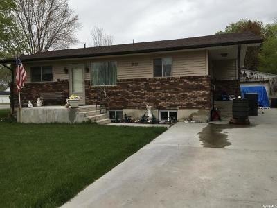 Nephi Single Family Home For Sale: 90 W 500 N