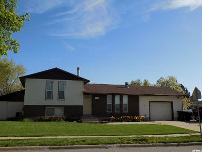 Syracuse Single Family Home Under Contract: 1121 W 1290 S