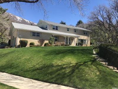 Ogden Single Family Home For Sale: 1624 Oakcrest Dr