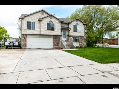 Clinton Single Family Home Under Contract: 2989 W 2100 N