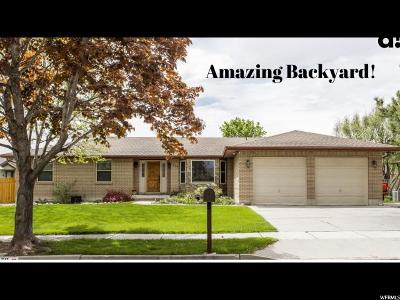 South Jordan Single Family Home Under Contract: 1379 W 10250 S
