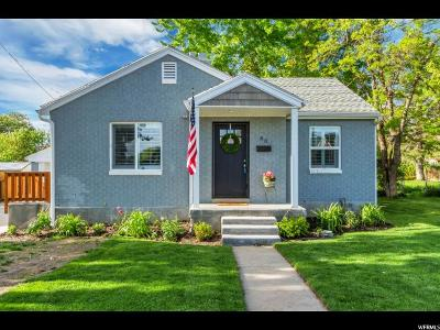 Bountiful Single Family Home Under Contract: 80 W 700 N