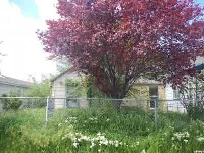 Salt Lake City Single Family Home For Sale: 337 N Marion St