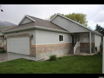 Draper Single Family Home Under Contract: 1166 E Parkstone