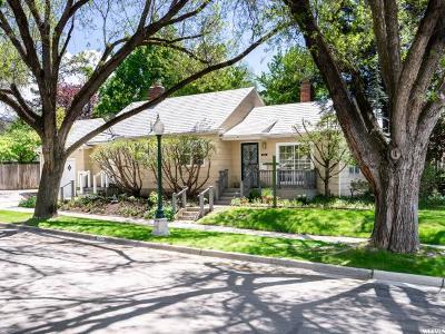 Sugar House Single Family Home Under Contract: 1406 E Blaine Ave