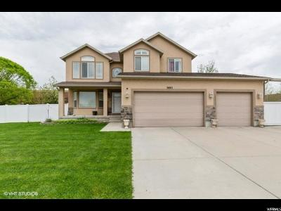 Riverton Single Family Home Under Contract: 3883 W 12380 S
