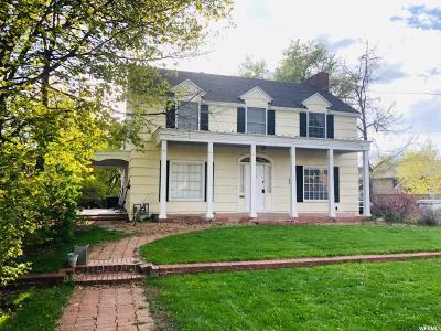 Logan Multi Family Home Under Contract: 545 E Boulevard
