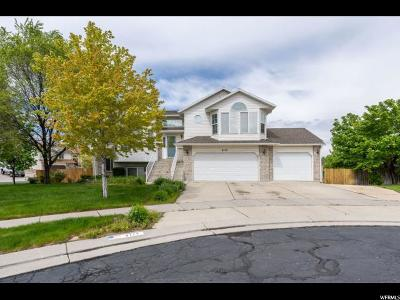 West Jordan Single Family Home Under Contract: 8177 S High Summit Cir W