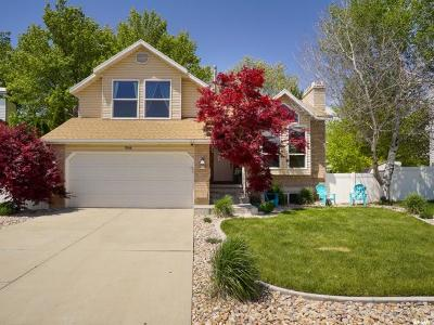 Kaysville Single Family Home Under Contract: 1566 S 350 E