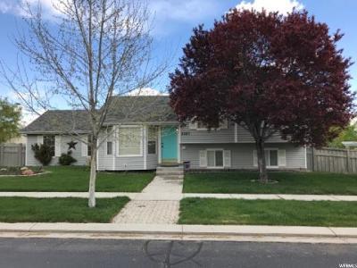 Eagle Mountain Single Family Home Under Contract: 3227 E Peregrine