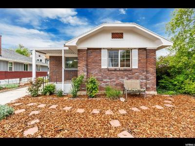 Sugar House Single Family Home For Sale: 2630 S Lake St E