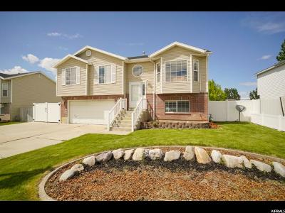 Clinton Single Family Home Under Contract: 2116 W 1520 N
