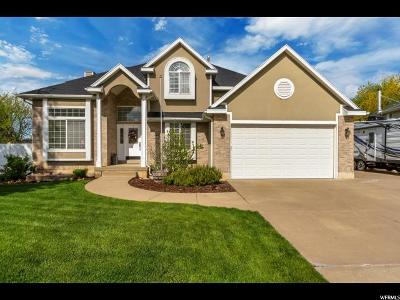 Kaysville Single Family Home Under Contract: 1278 S 400 E
